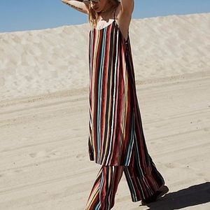 Free People Ruby Striped Set-Tank ONLY-S
